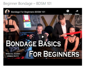 Fetish videos - tutorial guides - multimedia page